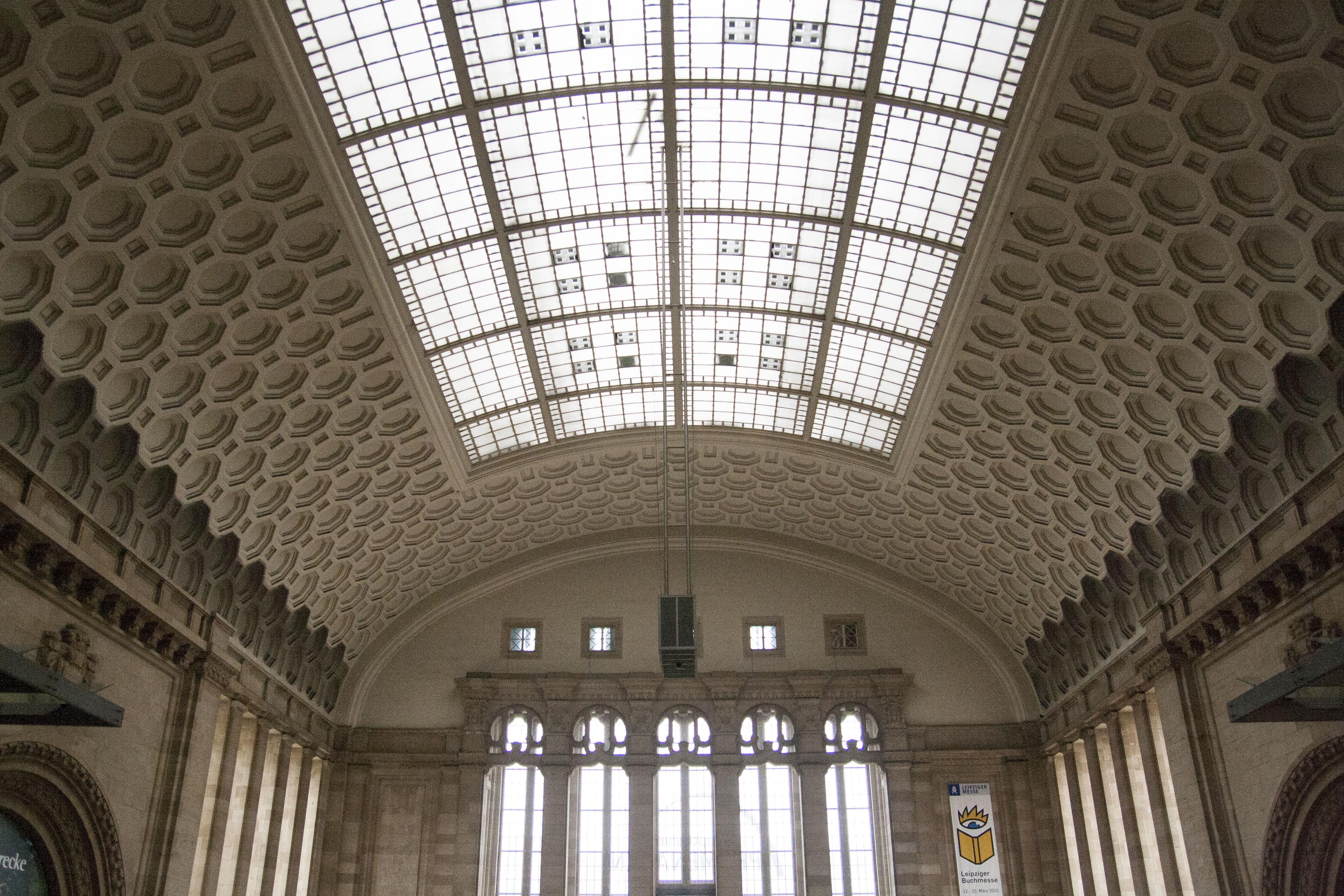 Leipzig heeft het grootste kopstation met 26 sporen naast elkaar
