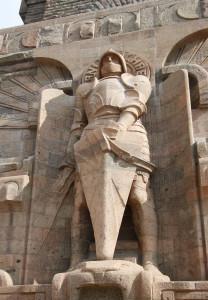 Ingang Völkerschlachtdenkmal